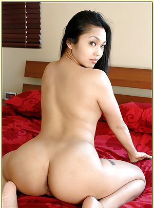 Girl with booties asian big